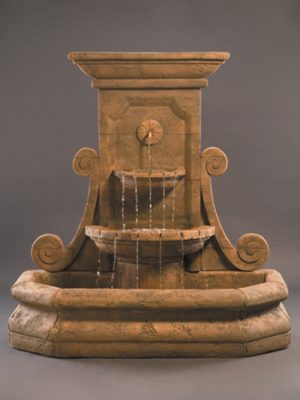 GRANDE VOLUTE WALL FOUNTAIN