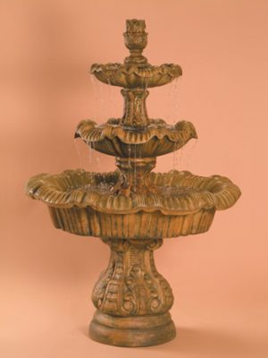 ITALIAN 3-TIER FOUNTAIN, TAIL