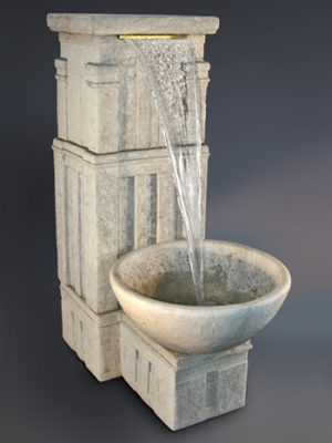 MASON FALLS FOUNTAIN WITH BOWL