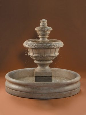 ROMA FOUNTAIN SMALL WITH 46 INCH BASIN
